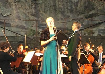 Eva-Lotta och Thomas Chorus Night 2016